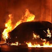 autoturism al directiei generale anticoruptie incendiat de interlopi