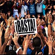 proteste de amploare la madrid manifestantii s-au luat la bataie cu fortele de ordine