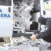 80000 de tigari confiscate de politistii din capitlala