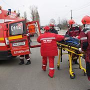 cinci persoane ranite grav intr-un accident pe dn 7