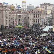 aproape 200000 de ucraineni protesteaza la kiev fata de noile legi represive