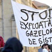protest continental impotriva exploatarii gazelor de sist