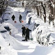 americanii se pregatesc pentru un nou val de frig si ninsori