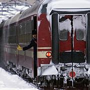 trenuri anulate din cauza ninsorii viscolite
