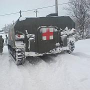 armata intervine pentru deszapezire in prahova