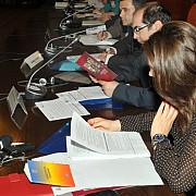 sedinta comisiei de revizuire a constitutiei va fi amanata pentru 3 februarie
