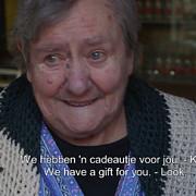 gest emotionant facut de jucatorii belgiei pentru o suportera de 80 de ani