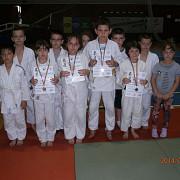 patru medalii pentru micutii judoka ploiesteni