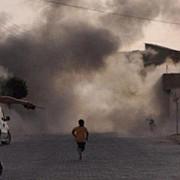 siria cel putin 14 persoane ucise intr-un atac cu obuze lansat de rebeli
