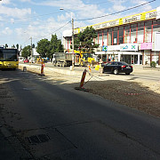 soseaua nordului va fi blocata circulatiei din cauza lucrarilor la tramvai