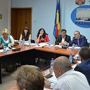 sedinta extraordinara a consiliului local pentru doua proiecte