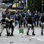 lupte de strada in capitala macedoniei soldate cu zeci de raniti