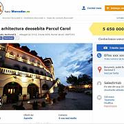 hotel de lux scos la vanzare pe olx si tocmairo pentru 56 milioane de euro