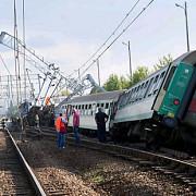 tren de pasageri deraiat in bulgaria