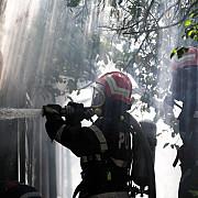 incendiu la un restaurant din centrul ploiestiului