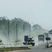 tancurile ucrainene au intrat in donetk