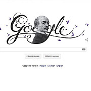 google il sarbatoreste pe vasile alecsandri printr-un logo special