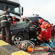 accident rutier la valea calugareasca o persoana a fost ranita
