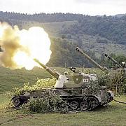 sua armata rusa ar fi bombardat in mai multe randuri pozitii din estul ucrainei