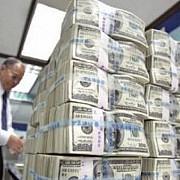 rezerva in valuta la dispozitia statului este de 68 miliarde euro