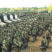 nato a lansat la granitele rusiei cele mai ample exercitii militare