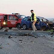doua persoane ranite intr-un accident rutier pe dn1