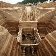 peste 100 de morminte din dinastia han descoperite in china