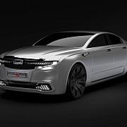 qoros 9 sedan concept berlina chineza pentru segmentul premium