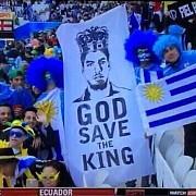 ce legatura au gasit suporterii uruguayului cu imnul angliei