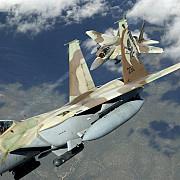 aviatia israeliana a efectuat raiduri asupra unor pozitii siriene