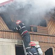incendiu puternic la un restaurant din nordul ploiestiului