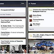 facebook testeaza carduri similare cu cele din google now