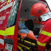 accident in poiana brasovun autocar cu 25 de pasageri a cazut in rapa