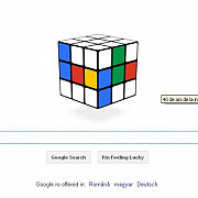 google marcheaza implinirea a 40 de ani de la inventarea cubului rubik printr-un logo interactiv