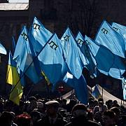 tatarii din crimeea protesteaza impotriva noilor autoritati ruse