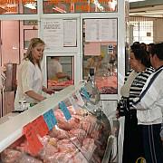 preturile la carne in halele centrale