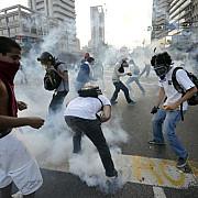 venezuela 17 morti si 261 de raniti in cursul manifestatiilor studentesti