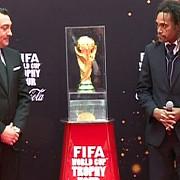 trofeul cupei mondiale fifa 2014 a sosit in bucuresti