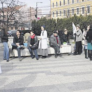 cluj rezidentii au protestat impotriva guvernului ponta 3