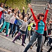 flashmob de ziua independentei la ploiesti