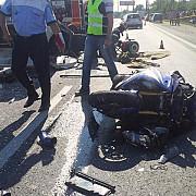motociclist ranit grav la pleasa
