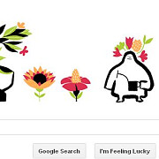 google marcheaza echinoctiul de primavara printr-un logo special