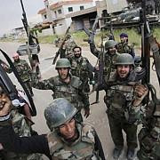 armata siriana a preluat controlul asupra unui camp petrolier strategic