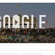 google marcheaza 25 de ani de la caderea zidului berlinului