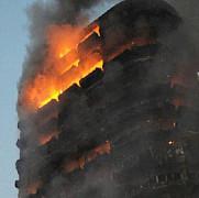 explozii urmate de incendiu intr-un complex rezidential din centrul moscovei