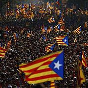 mii de catalani au cerut in strada dreptul de vota pentru independenta