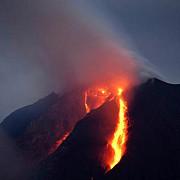 vulcanul sinabung din indonezia a erupt din nou