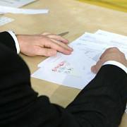 bec a prezentat macheta buletinului de vot folosit in primul tur al prezidentialelor