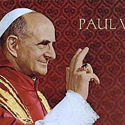 papa paul al vi-lea a fost beatificat de papa francisc