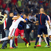 incidentele de la serbia albania si deciziile uefa